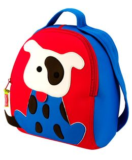Elefantastik Go Fetch Backpack - Red And Blue
