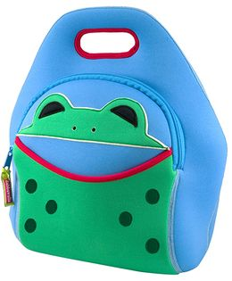 Elefantastik Hopping Frog Lunch Bag - Blue And Green