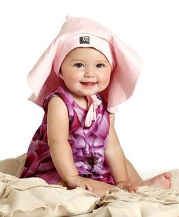 Baby Honey Romper - Dark Pink