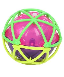 Hamleys Light and Sound Gravity Bouncing Ball - Pink and Purple