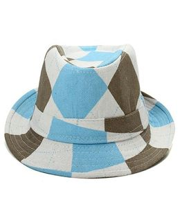 Little Cuddle Scottish Fedora Hat - Blue