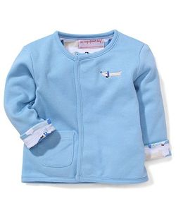 Magnificent Baby Adorable  jacket- Light Blue