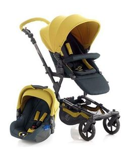 Jane Epic Plus Koos Car Seat Travel System Lime - 5351 R84