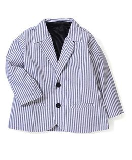 Timeless Fashion Full Sleeves Blazer - Grey & Black
