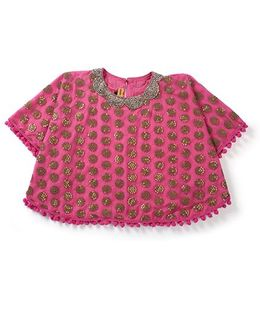 Shruti Jalan Attractive Poncho -  Pink