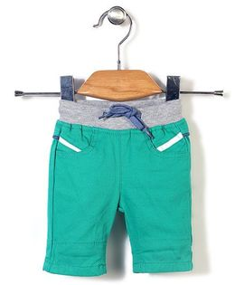 Candy Hearts Casual Shorts - Green