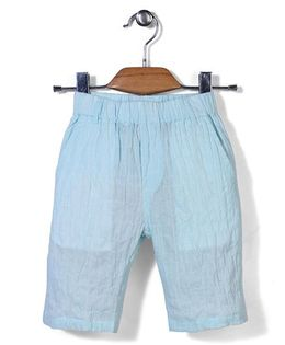 Candy Hearts Casual Shorts - Aqua Blue