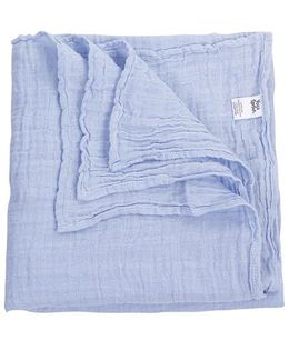 Yoga Sprout Blanket - Blue