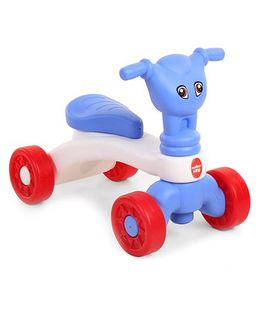 Comdaq Manual Push Ride On Blue White - 491232241