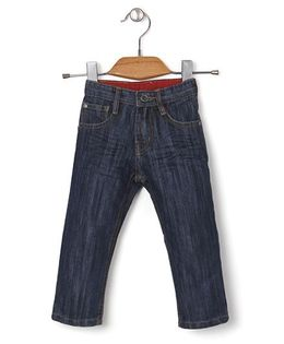 Kidsplanet Stylish Denim Pant - Navy Blue