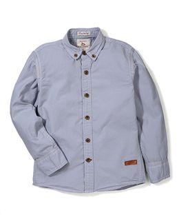 Police Zebra Juniors Shirt - Grey