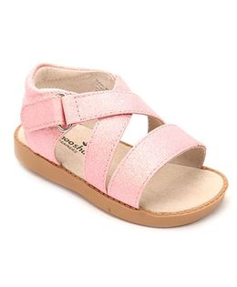 Mooshu Trainers Sparkle Baby Sandal - Pink