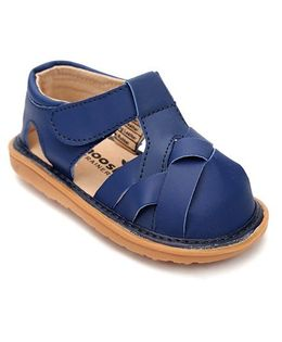 Mooshu Trainers Classy Pair Of Sandals - Navy Blue