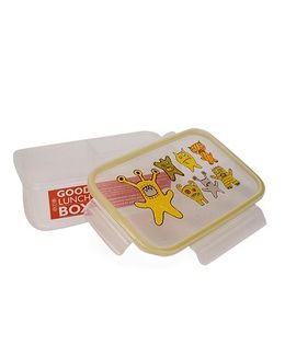 Sugar Booger Printed Lunch Box - Yellow & White