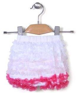 Wenchoice Ruffled Shorts - White