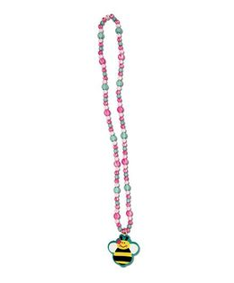 Stephen Joseph Necklace Bee Pendant - Pink