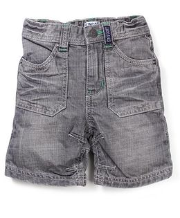 Enfant Denim Shorts - Grey