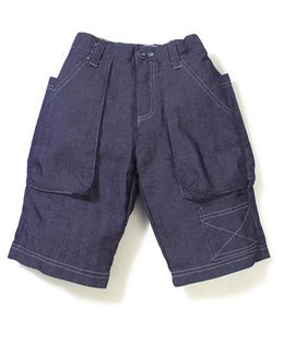 Enfant Stylish Casual Shorts -  Purple