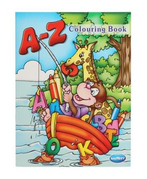 Navneet A-Z Coloring Book