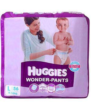 Huggies Wonder Pants Large - 56 pieces