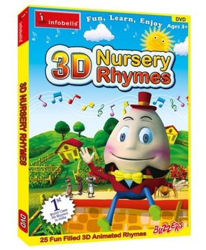 Infobells - 3D Nursery Rhymes Volume 1 DVD