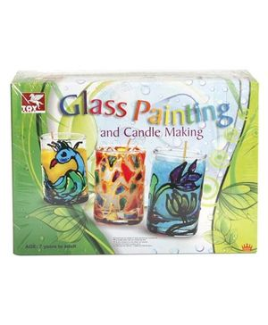 Toy Kraft Glass Painting & Candle Making