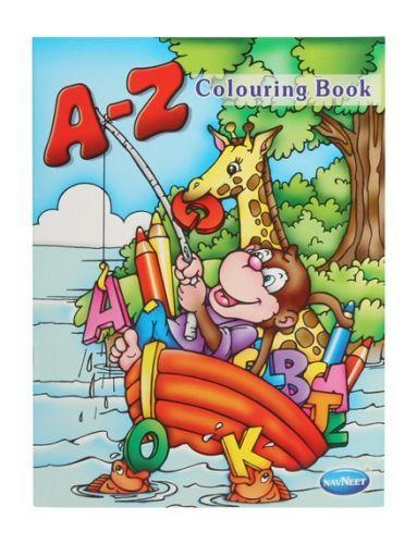 Navneet A-Z Coloring Book