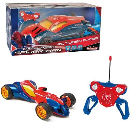 Flat 50% Off On Toys By Firstcry | Majorette - Spiderman RC Turbo Racer @ Rs.1,124.55