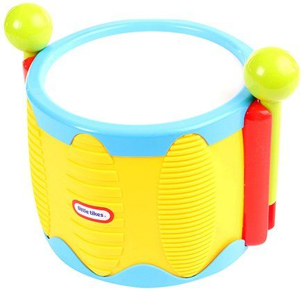 Little Tikes Tap A Tune Drum - Yellow