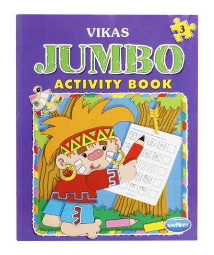 Navneet - Jumbo Activity Book (Part 3)
