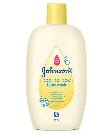 Johnson's baby Top to Toe Wash - 50 ml
