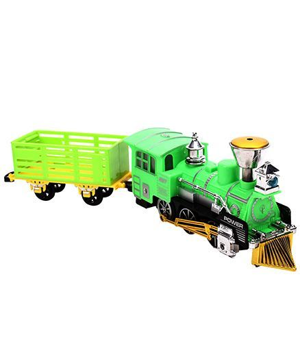 Smiles Creations Battery Operated Classic Train - Green