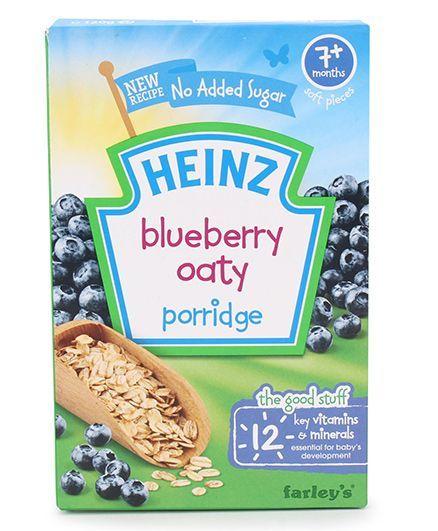 Heinz Blueberry Oat Porridge - 120 gm