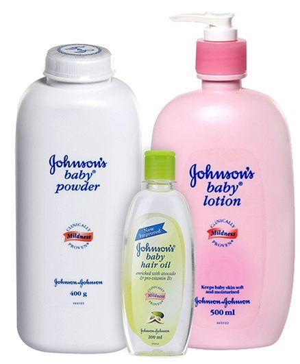 Johnson's After Bath Combo