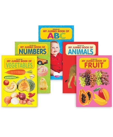 My Jumbo Book Series set of 5