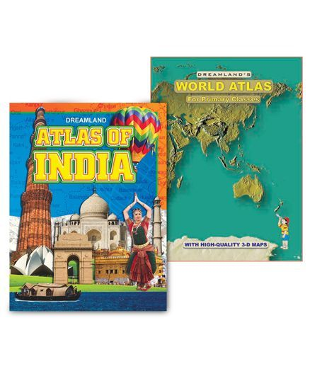 Atlases Pack of 2