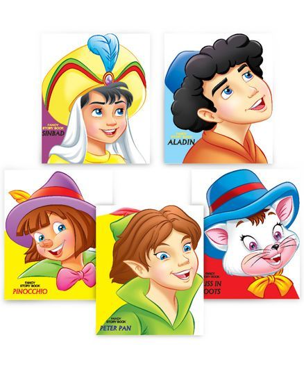 Fancy Story Board Books pack of 5