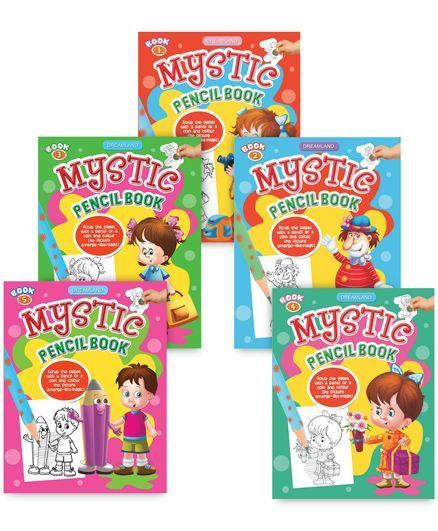 Mystic Pencil pack of 5