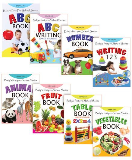 Baby First Pre-school pack of 8