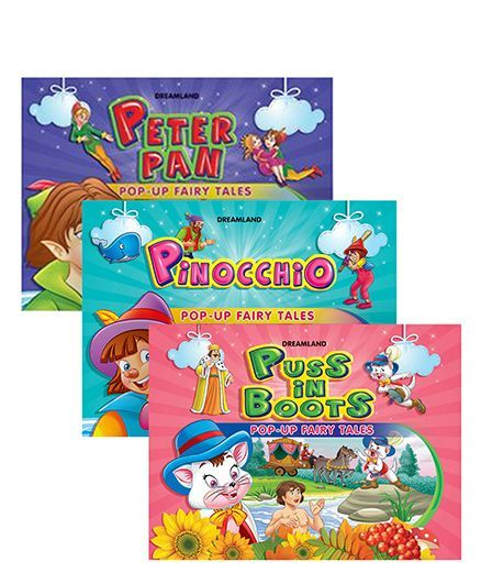 Pop Up Fairy Tales pack of 3