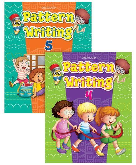 Pattern Writing Books pack of 3