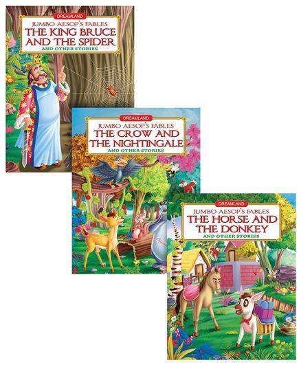 Jumbo Aesop's Fable pack of 3