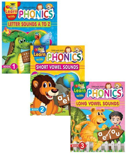 Learn with Phonics pack of 3