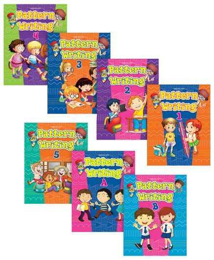 Pattern Writing Books pack of 7