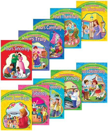 Be Good Stories pack of 10