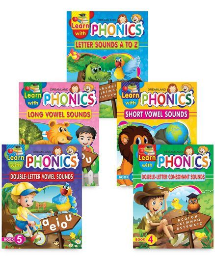 Learn With Phonics pack of 5