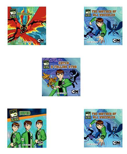 BEN10 (STORY BOOKS COMBO) 5 BOOKS