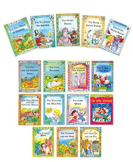 STORY BOOKS COMBO 2 -16 BOOKS