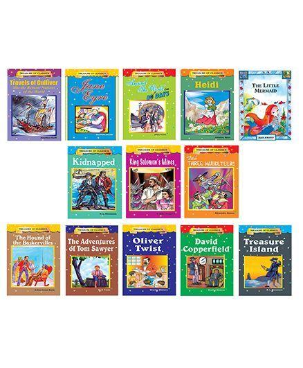 CLASSIC BOOKS COMBO 1- 13 BOOKS