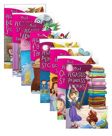 Pegasus Pack of 8 Books